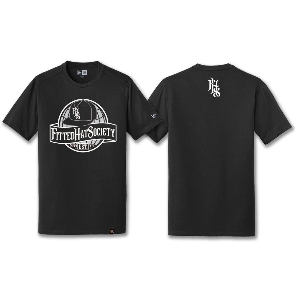 FHS Globe Logo T-shirt Black