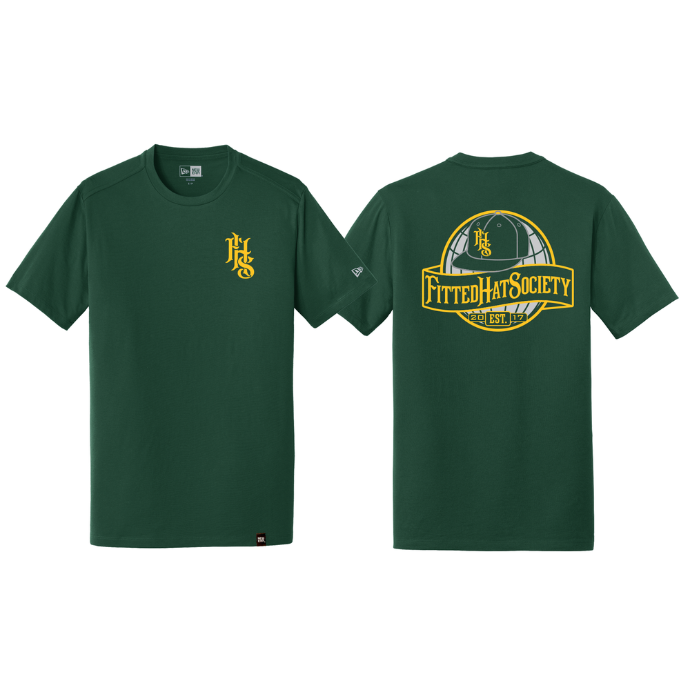 FHS Globe Logo T-shirt OAK FLIPPED