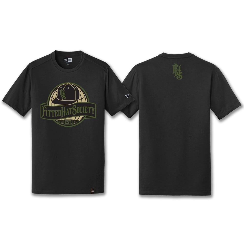 FHS Globe Logo T-shirt MILITARY