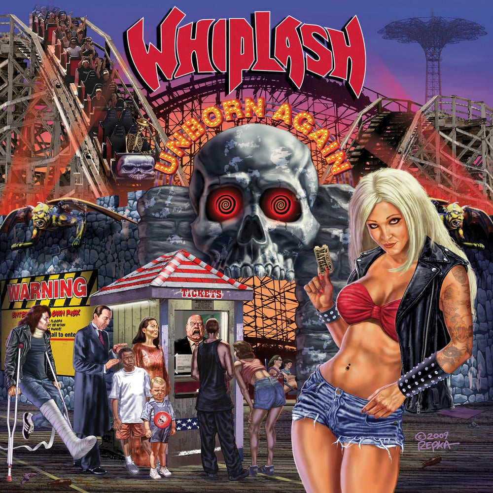 "WHIPLASH ""Unborn Again"" Digipak CD"
