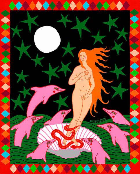 Image of Venus Night Star Fine Art Print