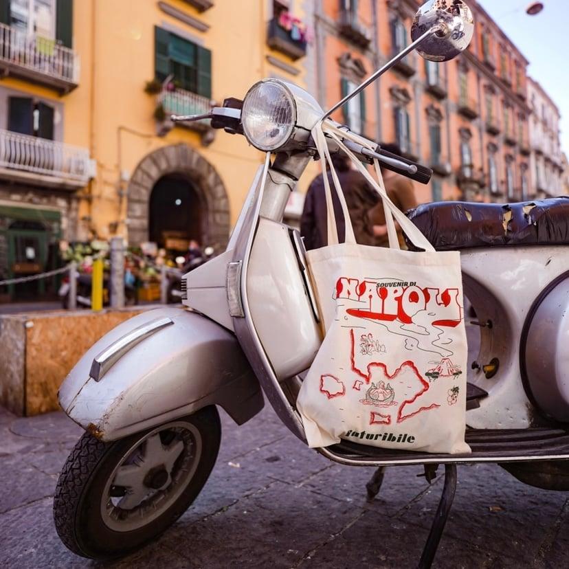 Image of Souvenir di Napoli  TOTE BAG
