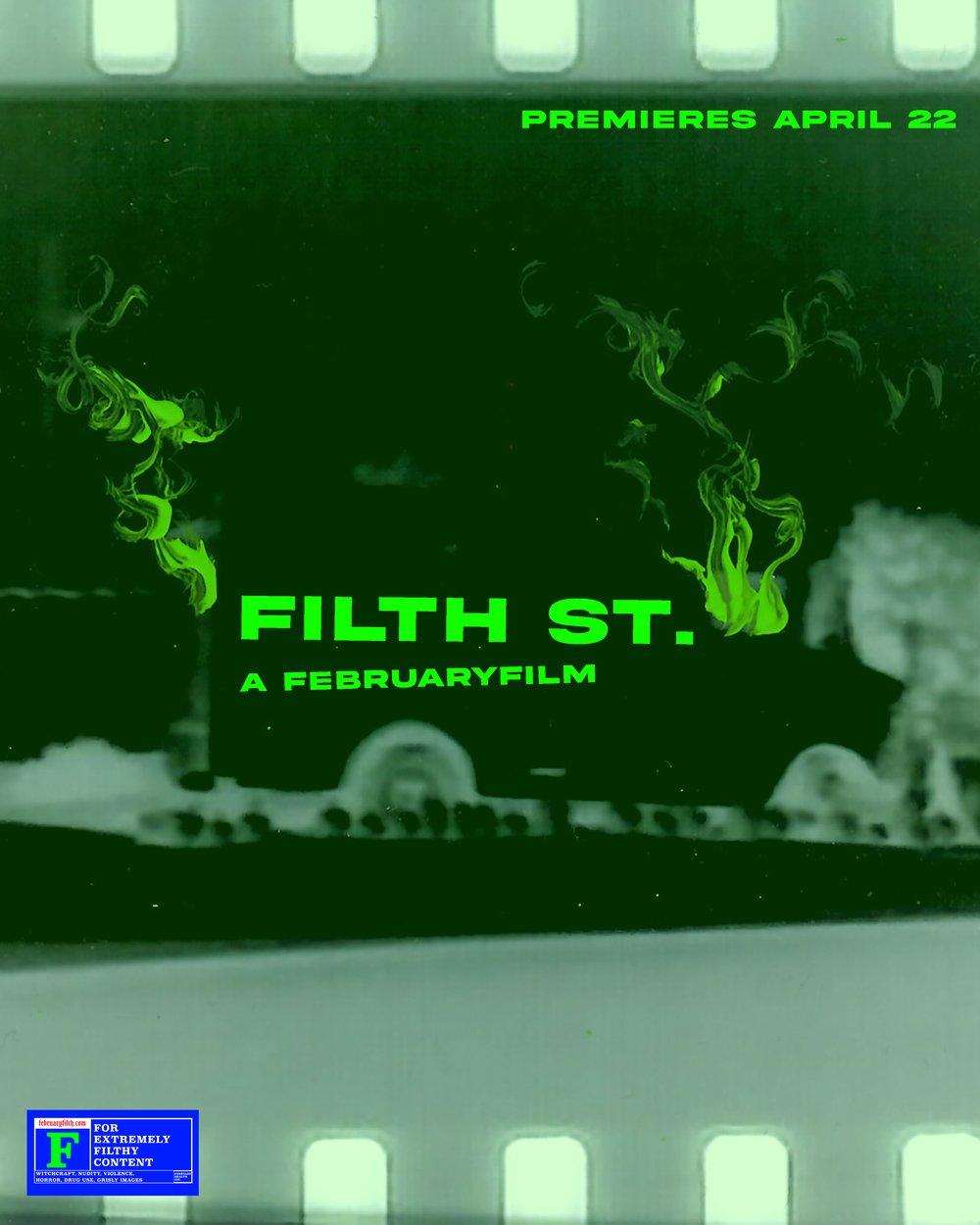 Image of FILTH ST. MOVIE POSTER OG SMOKE