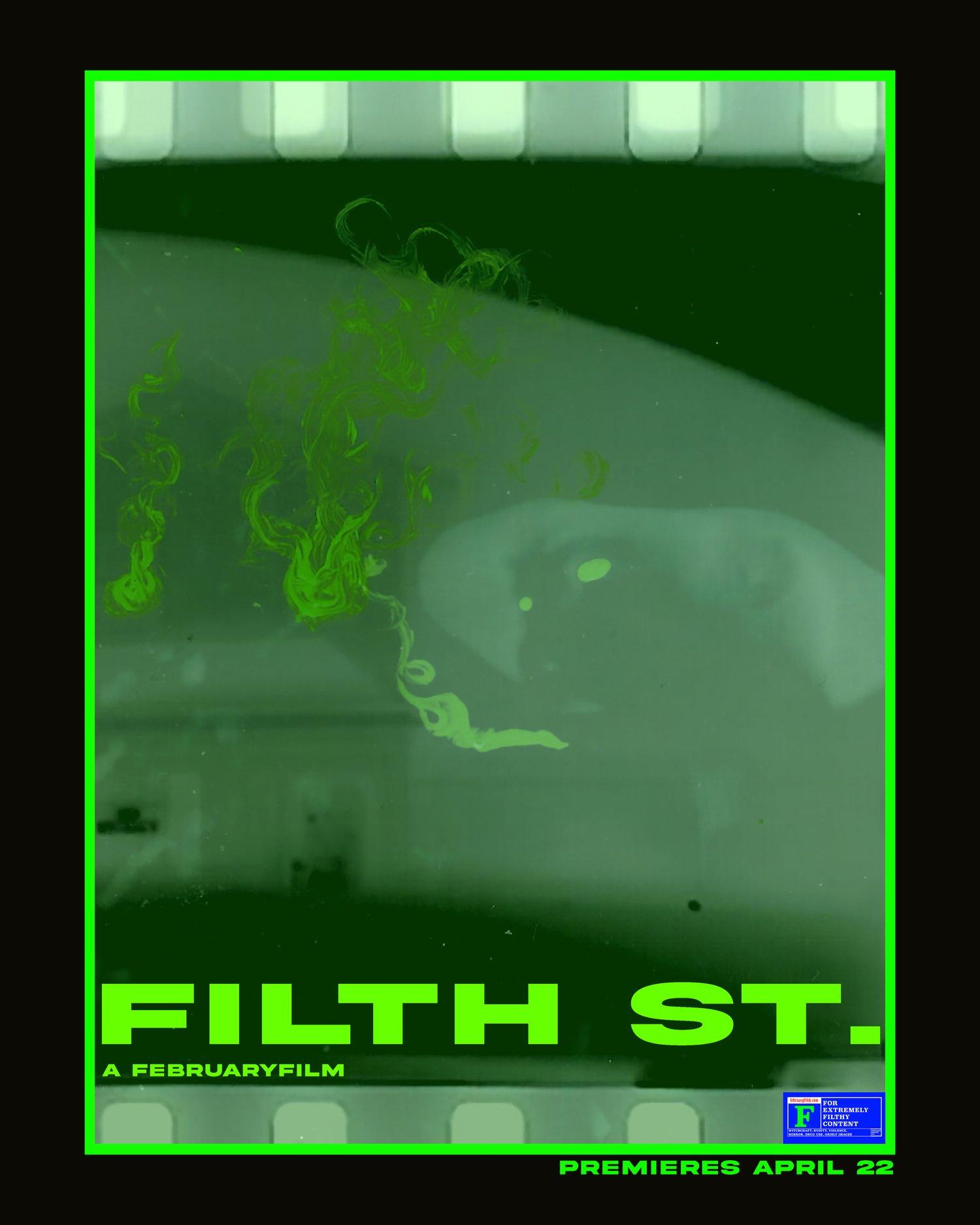 Image of FILTH ST. MOVIE POSTER OG
