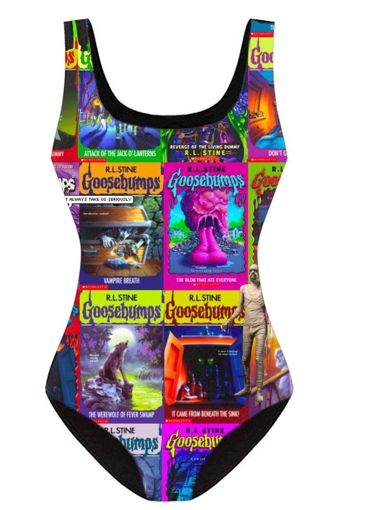 Image of Goosebumps Swim Suits PREORDER
