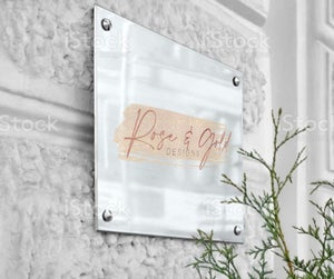 Image of Wall Mountable Business signs