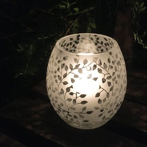 Image of Leaves Tealight Holder