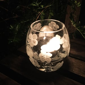 Image of Flowers Tealight Holder