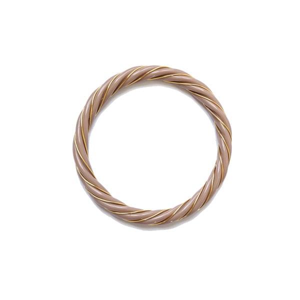 Image of Bracelet résine torsade