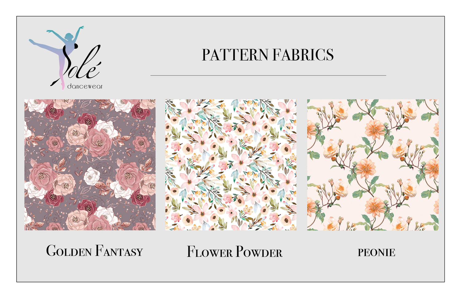 """Image of Lilac Fairy - """"Powder Flowers"""" pattern mesh"""