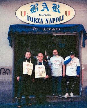 Image of Shopper + t-shirt  Souvenir di Napoli