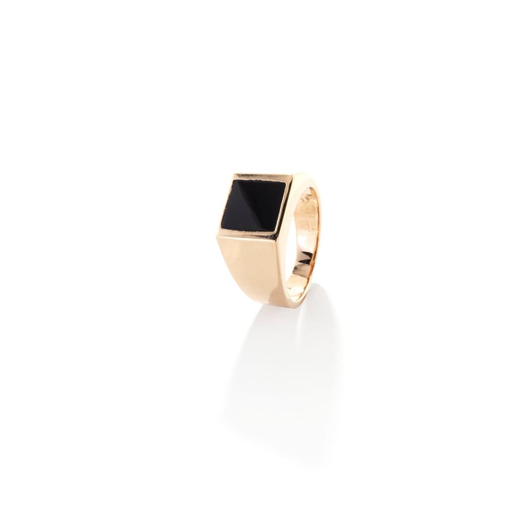 Image of BLACK SIGNET | RING