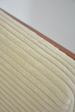 Image of Fauteuils BZ velours côtelé ivoire