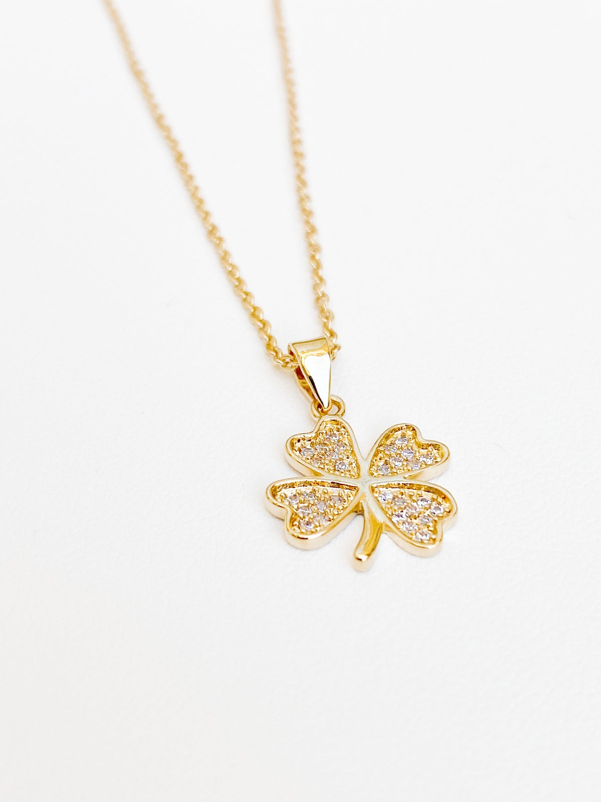 Image of SHINY CLOVER | NECKLACE