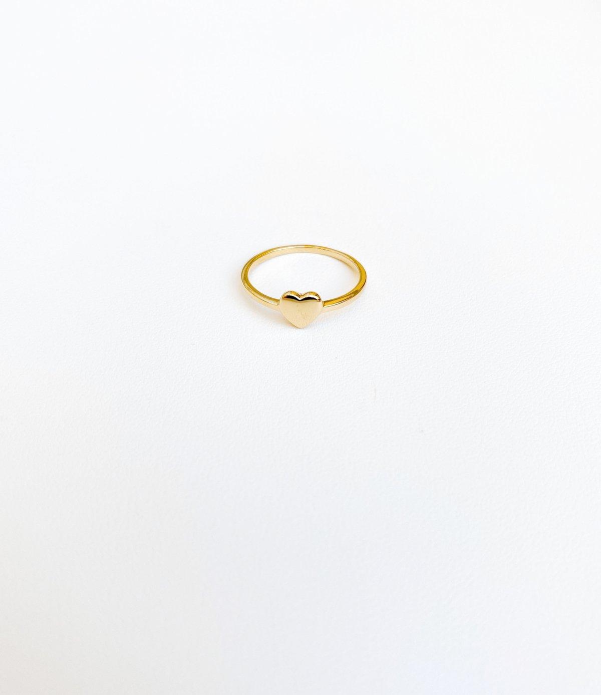 Image of GOLDEN HEART | RING