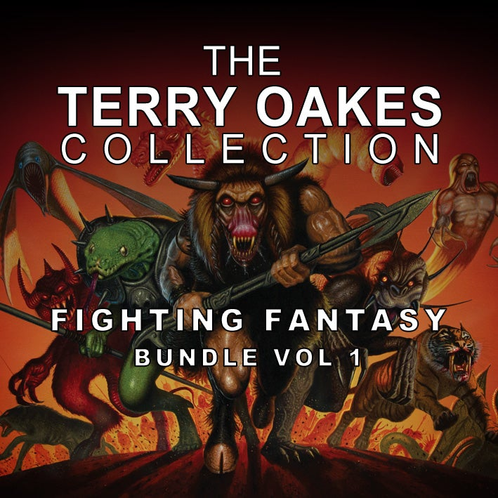 Image of The Fighting Fantasy Bundle vol 1 (paintings) – A3