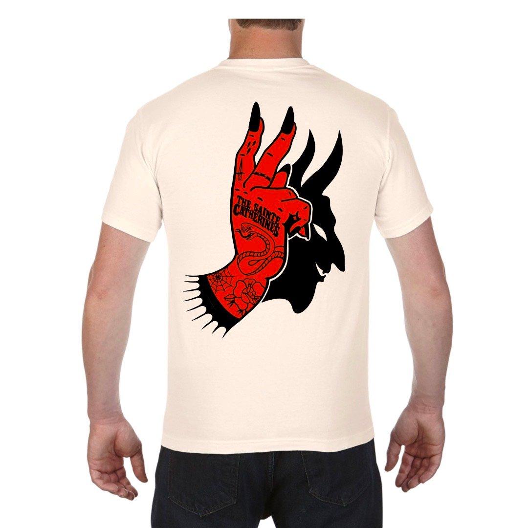 Image de The Sainte Catherines DEVIL HAND shirt
