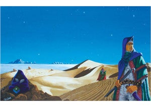 Image of Dune (spec) A3 print