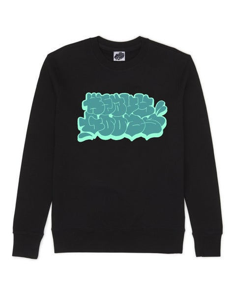 Image of Heavy Goods Throw Up Sweater