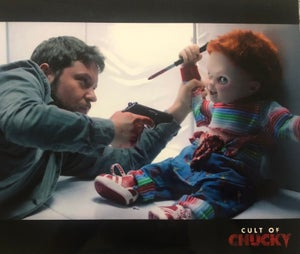 Image of Autographed Cult of Chucky Print