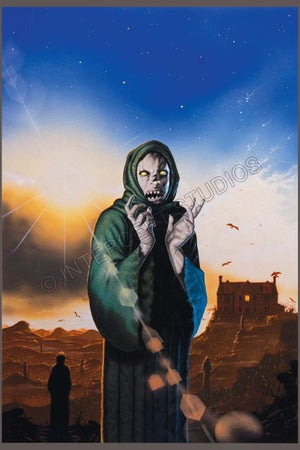 Image of Warlock #3 – Fighting Fantasy magazine cover A3 print