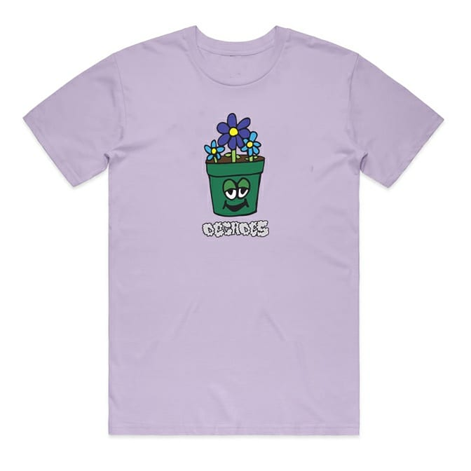 Image of Pothead tee Lilac
