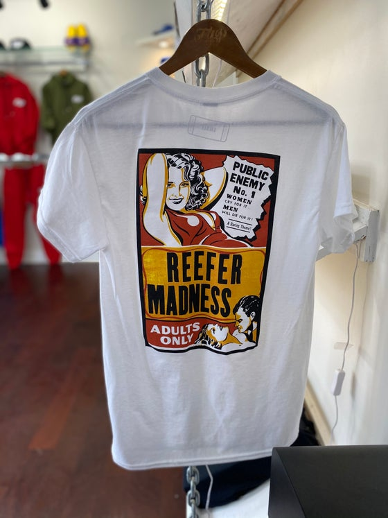 "Image of ""Reefer Madness"" Tee White"
