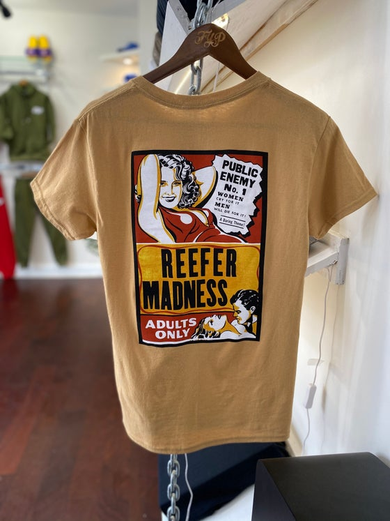 "Image of ""Reefer Madness"" Tee Tan"