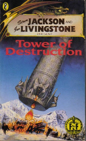 Image of Tower of Destruction A3 print