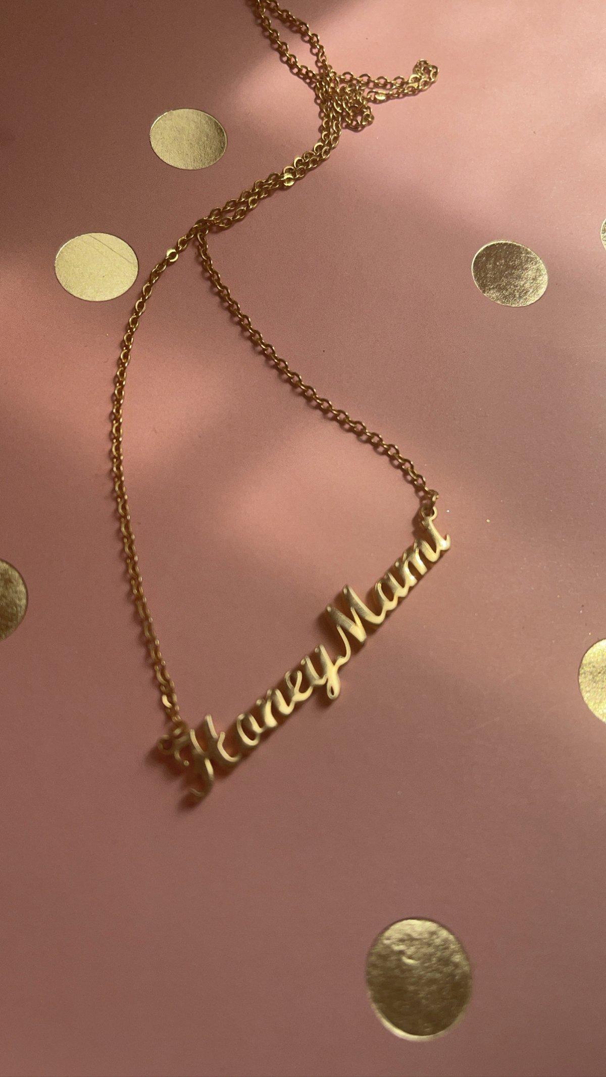 HoneyMami signature Gold link chain