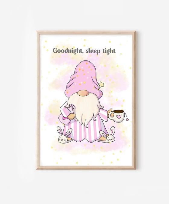 Image of Goodnight, sleep tight print