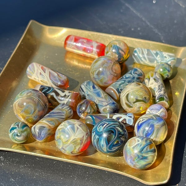 Image of MADE TO ORDER / pillard, valve marbles & pearls