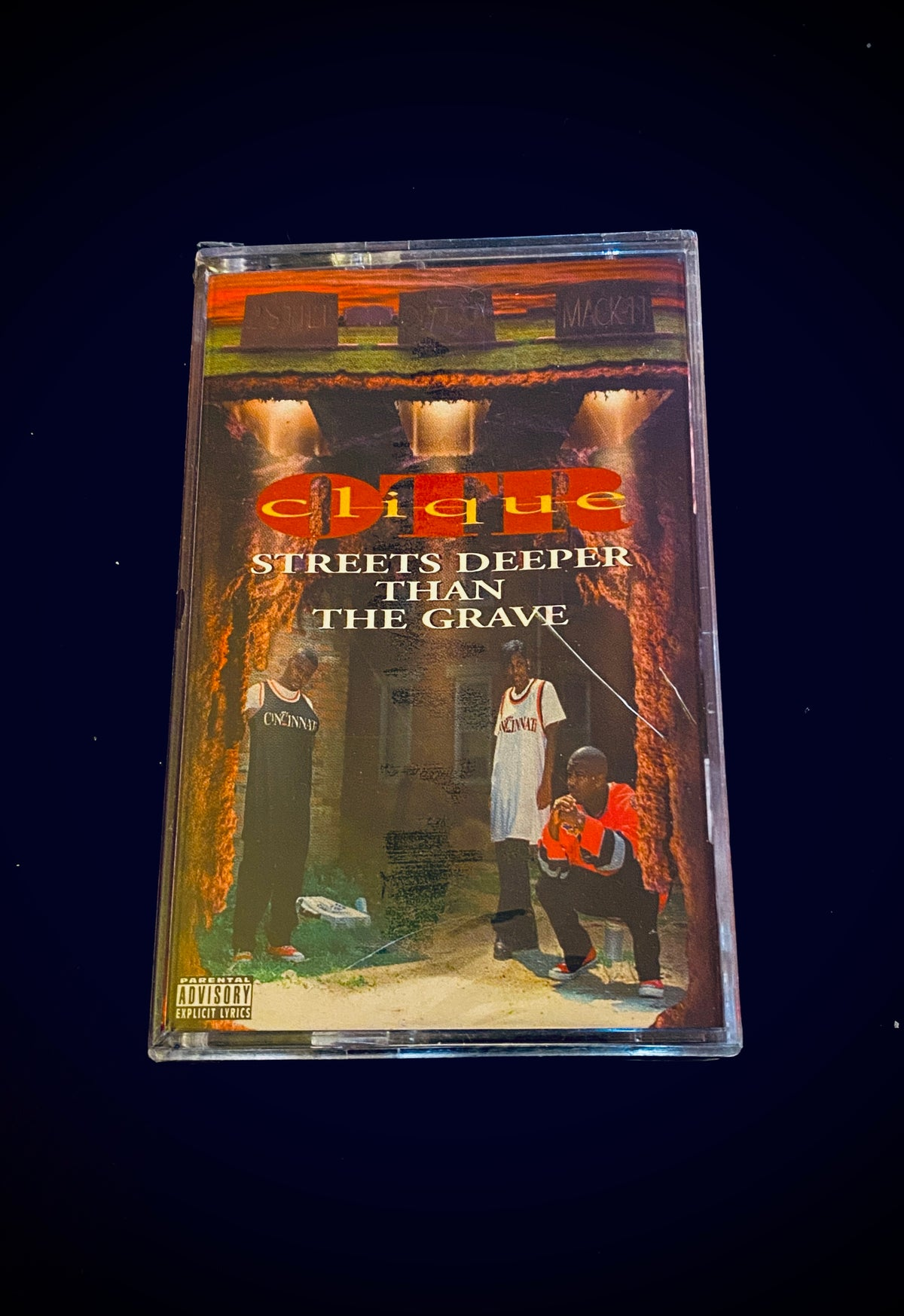 """Image of OTR Clique """" Streets Deeper Than The grave"""""""