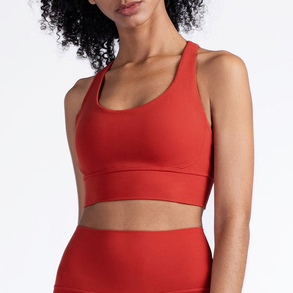 Image of ENERGY SPORTS BRA RED