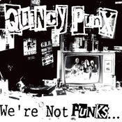 Image of Quincy Punx - We're Not Punks...But We Play Them On TV LP (green vinyl)