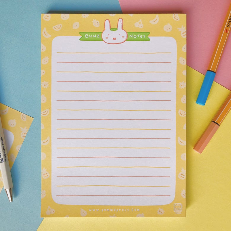 Image of BUNZ NOTEPAD