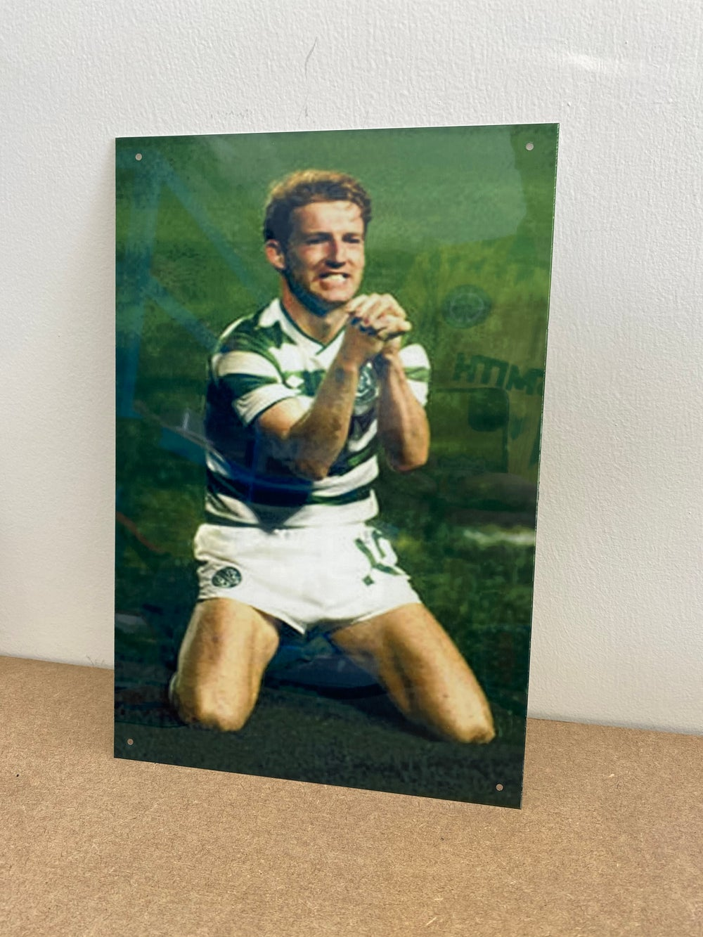 Tommy Burns Metal A4 Sign