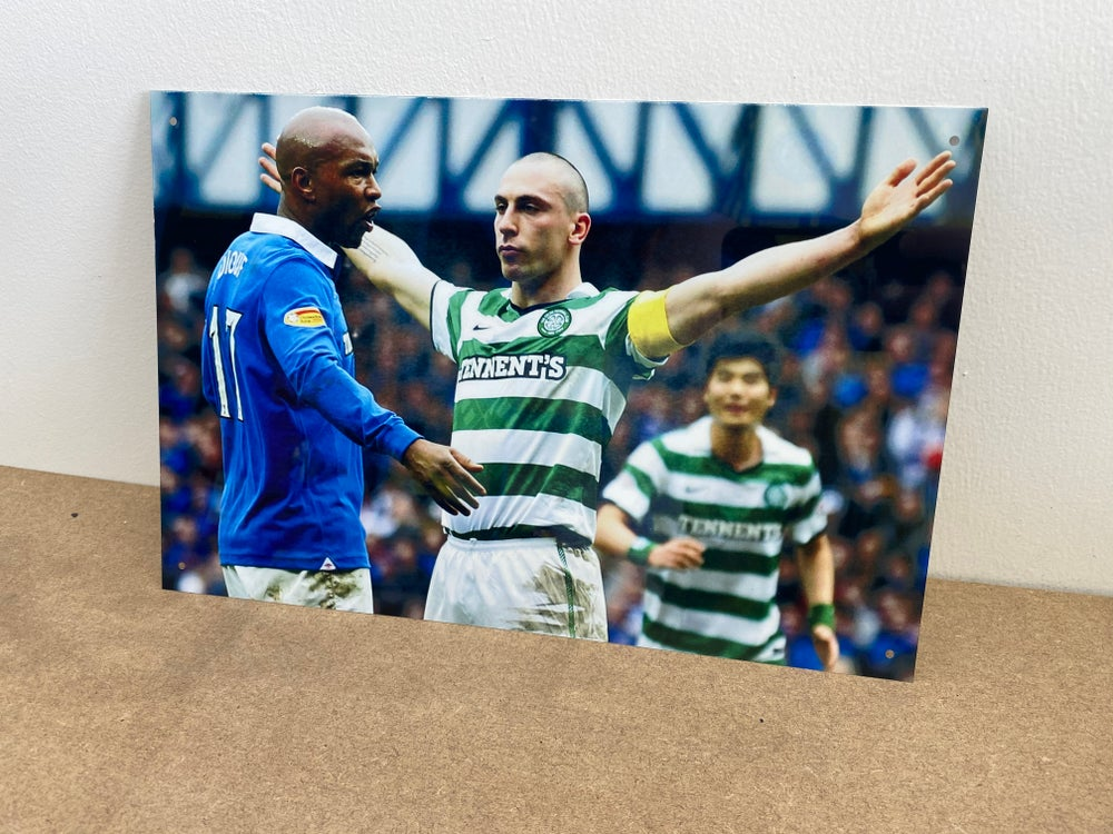 The Broony Metal A4 Sign