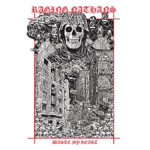 Image of Raging Nathans - Waste My Heart LP (colour vinyl)