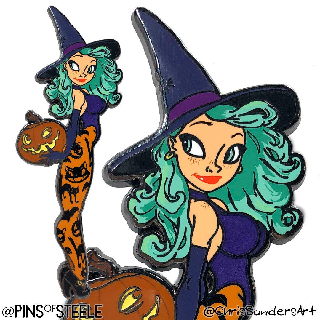 Image of Pumpkin Witch (Artist: Chris Sanders)