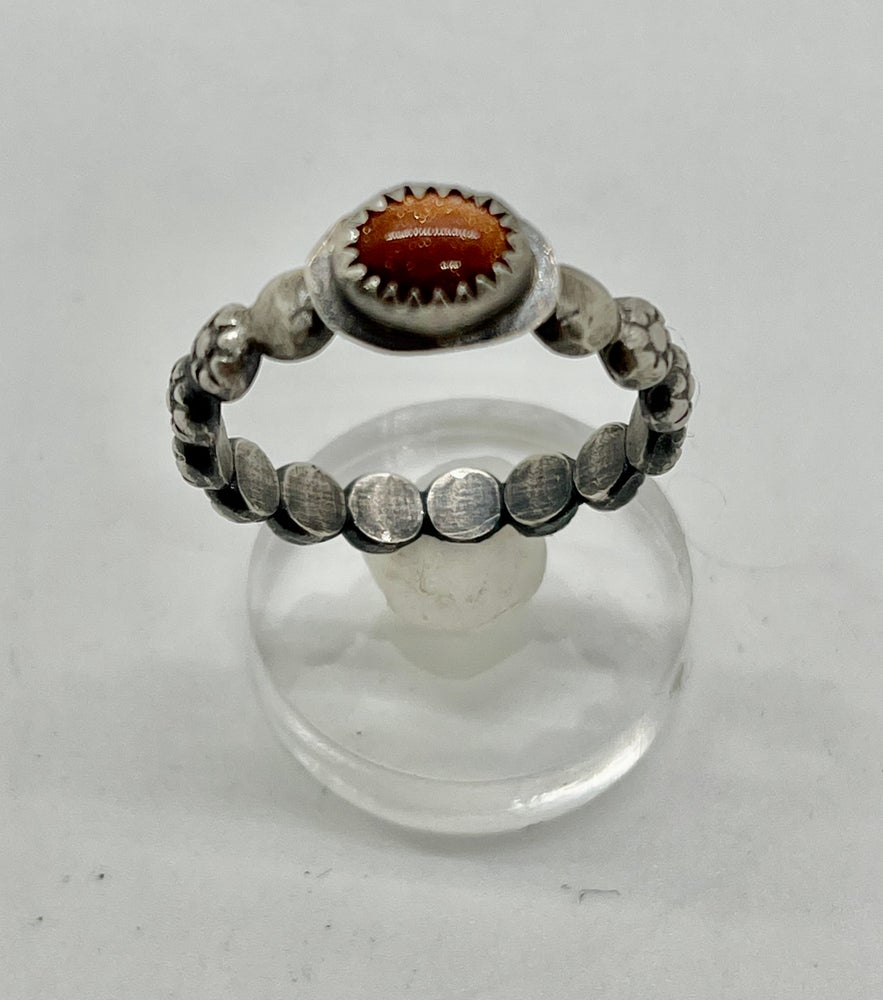 Image of Sunstone Stacker Ring size 8.25