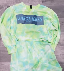 Image of Unbothered Tie Dye Jogger Set