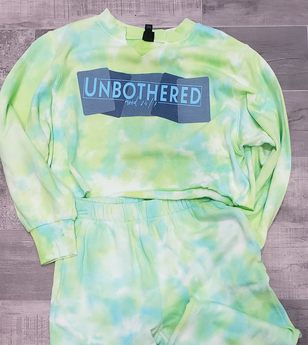Unbothered Tie Dye Jogger Set