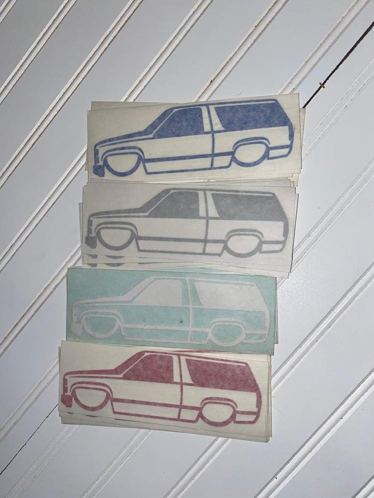 Image of Sticker 2door hoe