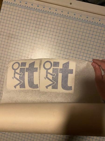 Image of Sticker f* it