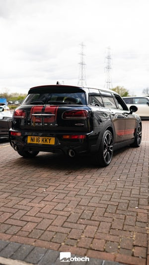Image of MINI JCW 306 Clubman F54  OPF / PPF Back Remus Exhaust (2018+)