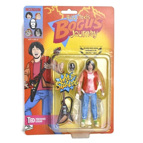 Image of Bill & Ted's Bogus Journey Ted Theodore Logan III 5-Inch FigBiz Action Figure