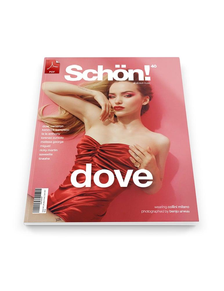Image of Schön! 40 | Dove Cameron by Benjo Arwas | eBook download