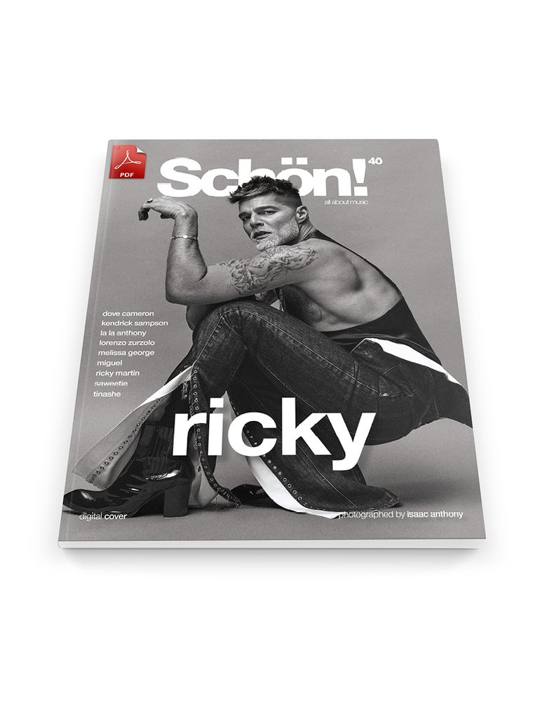 Image of Schön! 40 | Ricky Martin by Isaac Anthony | eBook download