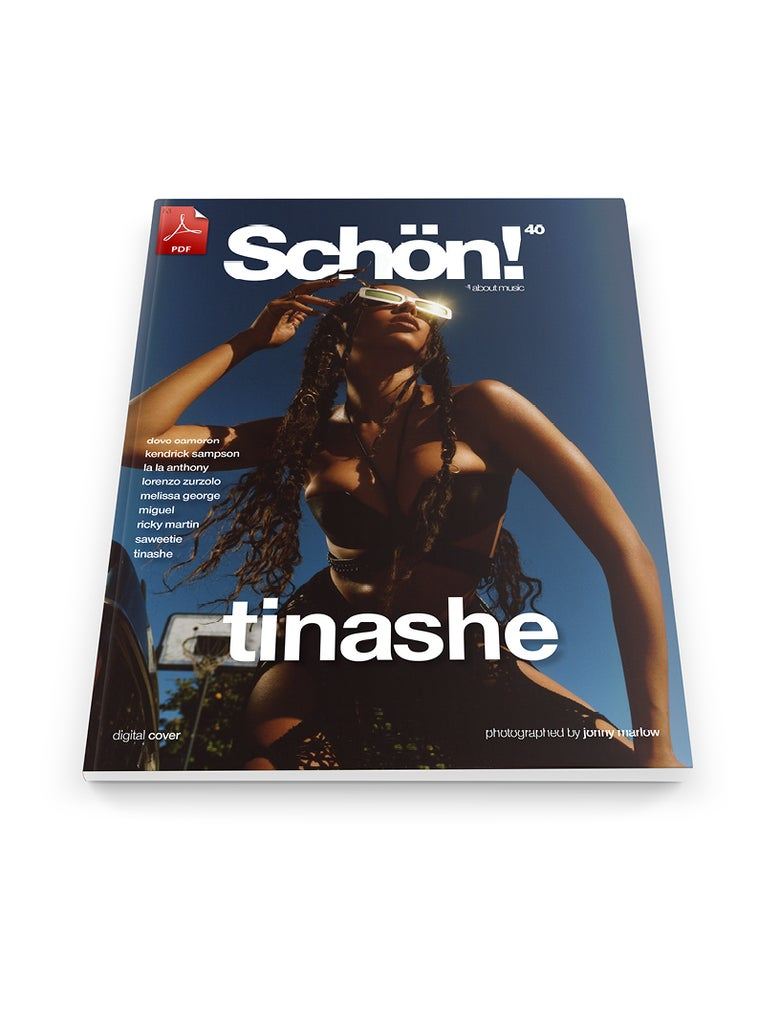 Image of Schön! 40 | Tinashe by Jonny Marlow | eBook download